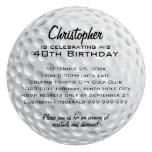 Fiesta de cumpleaños de la pelota de golf