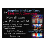 Fiesta de cumpleaños de la sorpresa de la máquina