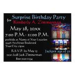 Fiesta de cumpleaños de la sorpresa de la máquina anuncio
