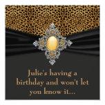 Fiesta de cumpleaños de la sorpresa de la mujer comunicados personales