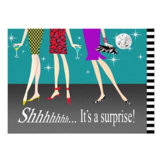 Fiesta de cumpleaños de la sorpresa de las chicas comunicados