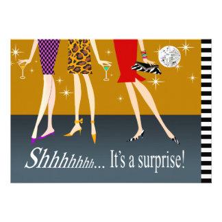 Fiesta de cumpleaños de la sorpresa de las chicas anuncio