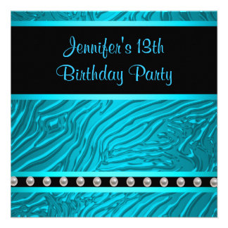 Fiesta de cumpleaños de los chicas azules de la ce anuncios personalizados