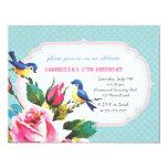 Fiesta de cumpleaños de los pájaros y de los rosas comunicados personales