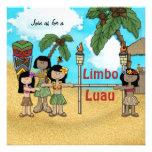 Fiesta de cumpleaños de Luau del limbo