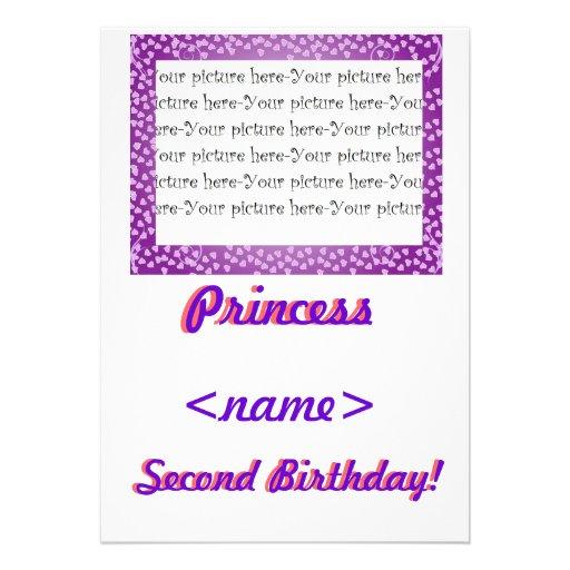 Fiesta de cumpleaños de princesa Mini Hearts Secon Comunicados