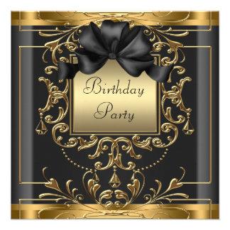 Fiesta de cumpleaños del art déco comunicados personales