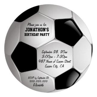 Fiesta de cumpleaños del balón de fútbol del fútbo