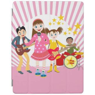 Fiesta de cumpleaños del chica del estrella del cubierta de iPad