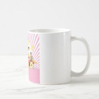 Fiesta de cumpleaños del chica del estrella del taza clásica