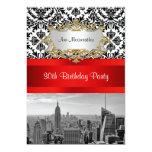 Fiesta de cumpleaños del damasco de BW 432 del Comunicado Personalizado