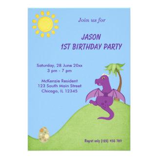 Fiesta de cumpleaños del dragón