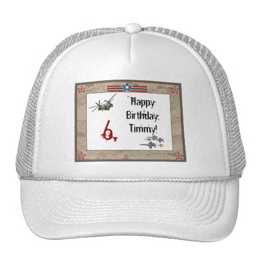 fiesta de cumpleaños del ejército de s gorro