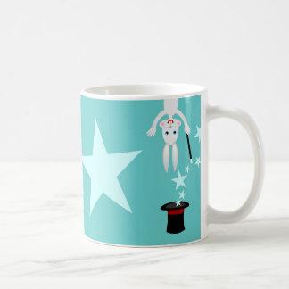 Fiesta de cumpleaños del niño del mago taza de café