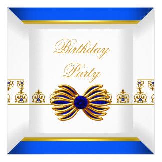 Fiesta de cumpleaños del oro de la joya de la gema anuncios