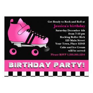 Fiesta de cumpleaños del patín de ruedas de las ro