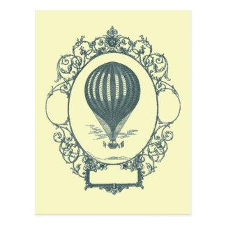 Fiesta de cumpleaños del piloto del globo del aire postales