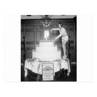 Fiesta de cumpleaños del vodevil: 1926 tarjetas postales
