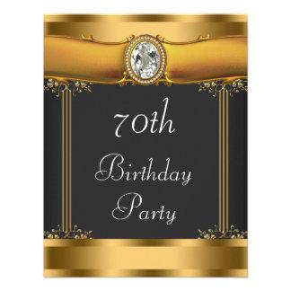 Fiesta de cumpleaños elegante del art déco invitacion personalizada