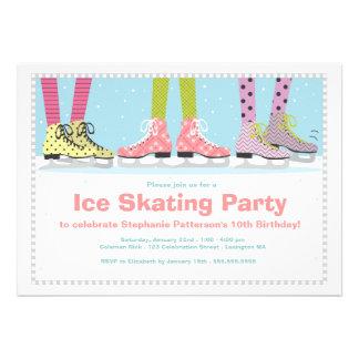 Fiesta de cumpleaños enrrollada del patinaje de hi anuncios personalizados