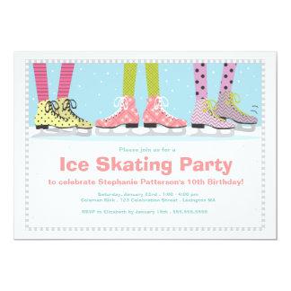 Fiesta de cumpleaños enrrollada del patinaje de anuncios personalizados