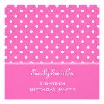 Fiesta de cumpleaños femenina elegante, dulce del anuncios