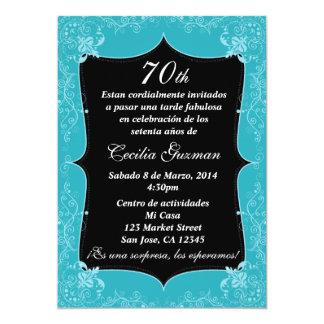 Fiesta de cumpleaños invitación/Birthday Party Card