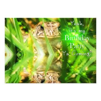 ¿Fiesta de cumpleaños - invitación - el venir de Y