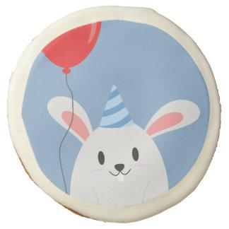 Fiesta de cumpleaños linda del conejo