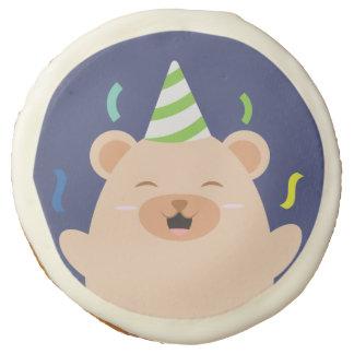Fiesta de cumpleaños linda del oso