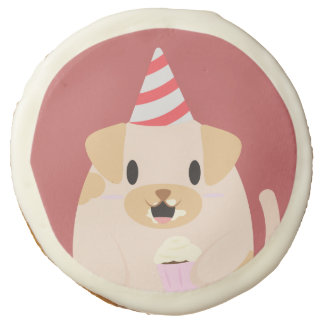Fiesta de cumpleaños linda del perro