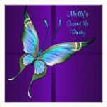 Fiesta de cumpleaños púrpura del dulce 16 de la ma comunicados personales