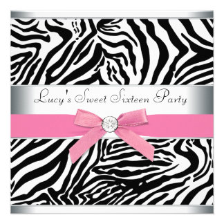 Fiesta de cumpleaños rosada del dulce dieciséis de