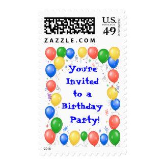 Fiesta de cumpleaños envio