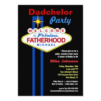 Fiesta de Dadchelor - invitaciones de la ducha del Invitaciones Personales