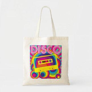 Fiesta de disco bolsa tela barata