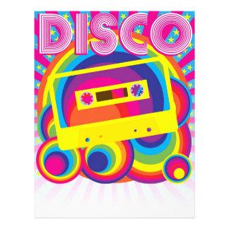 Fiesta de disco tarjetón