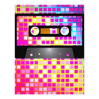 """Fiesta de disco folleto 8.5"""" x 11"""""""