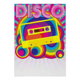 Fiesta de disco poster