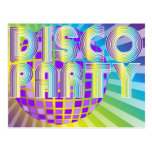 Fiesta de disco postal