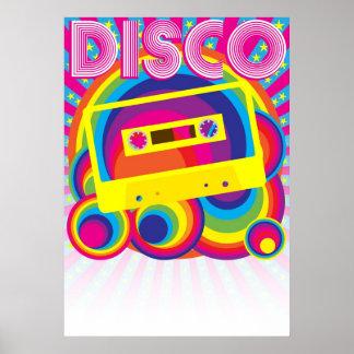 Fiesta de disco póster