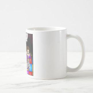 Fiesta de disco taza básica blanca