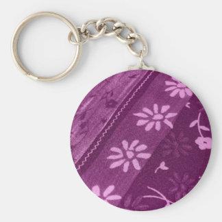 Fiesta de ducha rosada púrpura de las vides de los llaveros