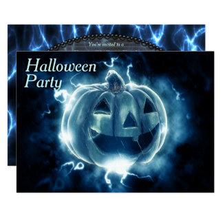 """Fiesta de electrificación de Halloween de la Invitación 5"""" X 7"""""""