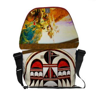 Fiesta de exploración - la bolsa de mensajero del bolsas messenger