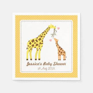 Fiesta de fiesta de bienvenida al bebé colorido servilletas de papel