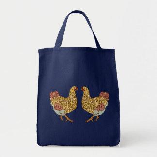 Fiesta de gallina bolsa tela para la compra