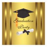 Fiesta de graduación del diploma del casquillo de  comunicados personalizados