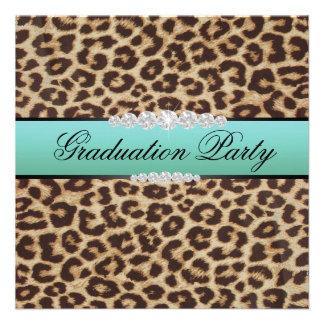 Fiesta de graduación del leopardo del trullo comunicado