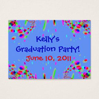 ¡Fiesta de graduación del personalizado de la Tarjetas De Visita Grandes